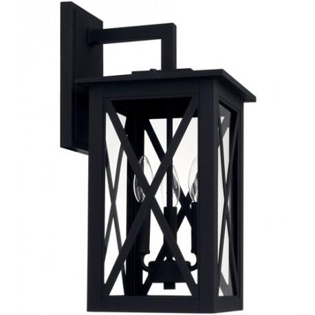 Capital Lighting 926631bk Avondale 3 Light 19 Inch Black In Ciotti Black Outdoor Wall Lanterns (View 14 of 20)