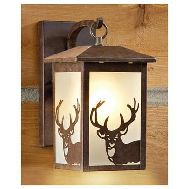 Castlecreek™ Rustic Outdoor Wall Lantern – 225944, Solar Throughout Malak Outdoor Wall Lanterns (View 14 of 20)
