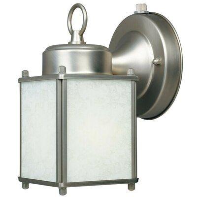 Charlton Home® Krajewski 1 Light Outdoor Wall Lantern Regarding Krajewski Wall Lanterns (View 7 of 20)