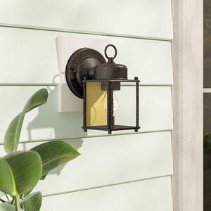 Charlton Home® Krajewski 8'' H Outdoor Wall Lantern With Regard To Krajewski Wall Lanterns (View 4 of 20)