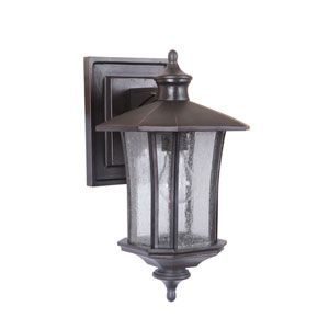 Chateau Oiled Bronze Gilded Three Light Outdoor Post Mount Regarding Heinemann Rubbed Bronze Seeded Glass Outdoor Wall Lanterns (View 10 of 20)