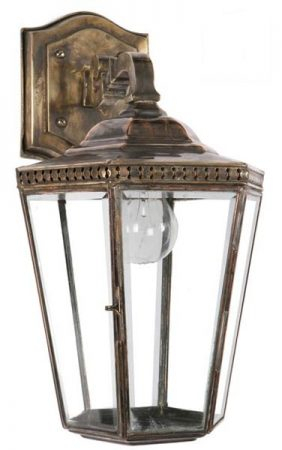 Chelsea Georgian Period Outdoor Wall Lantern Brass And Within Caroline Outdoor Wall Lanterns (View 8 of 20)