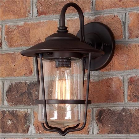 Contemporary Seeded Glass Wall Lantern – Small | Wall Inside Binegar Matte Black Outdoor Wall Lanterns (View 5 of 20)