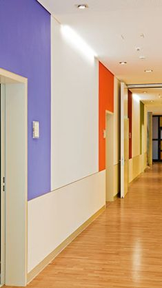 Corridors Of Asklepios Clinic Barmbek Litphilips Inside Journey Outdoor Wall Lanterns (View 2 of 20)