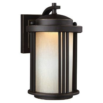 Crowell Outdoor Wall Sconce (with Images)   Outdoor Wall For Needham Dark Bronze Seeded Glass Outdoor Lights (View 4 of 20)