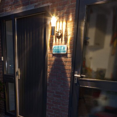 Dakota Fields Silver/transparent Solar Powered Integrated For Chazz Integrated Led Outdoor Armed Sconces (View 15 of 20)