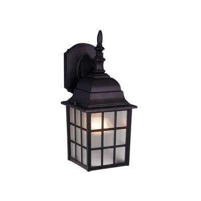 Darby Home Co Coleg 3 Light Outdoor Wall Lantern & Reviews Regarding Socorro Black Outdoor Wall Lanterns (View 16 of 20)