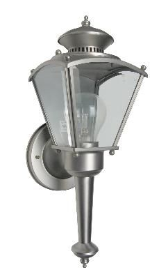Designers Fountain – 30223 Pw – One Light Wall Lantern With Bayou Beveled Glass Outdoor Wall Lanterns (View 13 of 20)