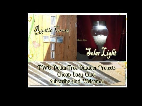 Diy Dollar Tree Outdoor Decoration Ideas With Miss Jones With Regard To Journey Outdoor Wall Lanterns (View 10 of 20)
