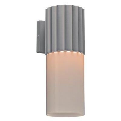 Ebern Designs Lynmouth Glass Outdoor Armed Sconce   Wayfair Regarding Dedmon Outdoor Armed Sconces (View 6 of 20)