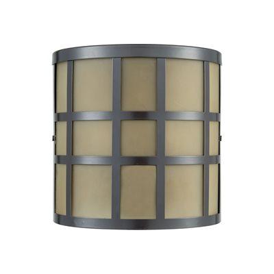 Elk Hooper Exterior Wall Lighting – Bronze 46330/2 Pertaining To Tangier Dark Bronze Wall Lanterns (View 18 of 20)
