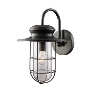 """Elk Lighting 42285/1 Matte Black 13"""" Extension Traditional Regarding Armanno Matte Black Wall Lanterns (View 1 of 20)"""