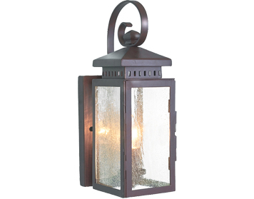 Elstead Matlock Wrought Iron Outside Wall Lantern, Old With Tangier Dark Bronze Wall Lanterns (View 6 of 20)