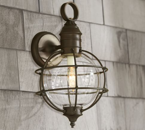 Fisherman's Indoor/outdoor Pendant   Pottery Barn For Lainey Outdoor Barn Lights (View 16 of 20)