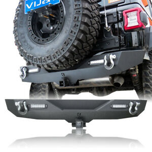 For 2018 2021 Jeep Wrangler Jl Rear Bumper Texture Black Intended For Sheard Textured Black 2 – Bulb Wall Lanterns (View 16 of 20)