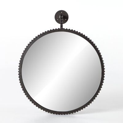 Four Hands Karsyn Large Accent Mirror Finish: Black Within Black  (View 20 of 20)