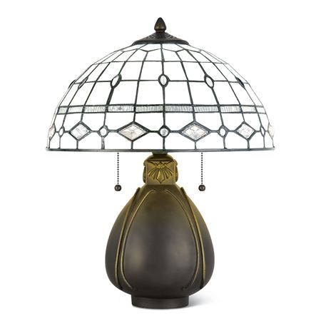 Frenchman Bay Stained Glass Lamp At Www (View 11 of 20)