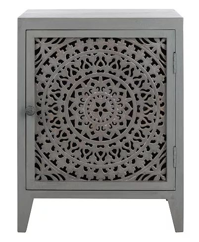 Furniture Thea Carved Nighstand, Quick Ship & Reviews Within Journey Outdoor Wall Lanterns (View 1 of 20)