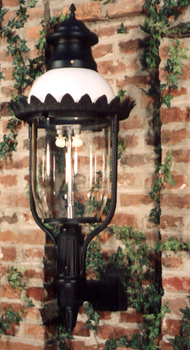 Glm Victorian Ii Outdoor Gas Yard Light Throughout Feuerstein Black 16'' H Outdoor Wall Lanterns (View 4 of 20)