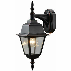 Hardware House Oil Rubbed Bronze Patio/porch Outdoor Light Throughout Ranbir Oil Burnished Bronze Outdoor Wall Lanterns With Dusk To Dawn (View 16 of 20)