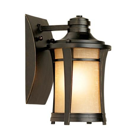 """Harmony 10 1/2"""" High Imperial Bronze Outdoor Wall Light In Within Tangier Dark Bronze Wall Lanterns (View 5 of 20)"""