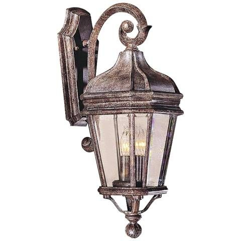 """Harrison Series 21"""" High Outdoor Wall Light – #56719 Within Caroline Outdoor Wall Lanterns (View 3 of 20)"""