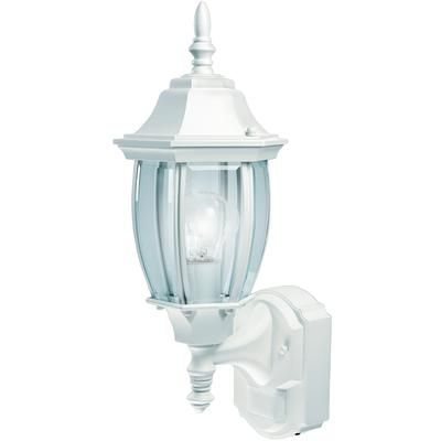 Heath Zenith   Heath Zenith 180 Degree Alexandria Lantern In Powell Beveled Glass Outdoor Wall Lanterns (View 15 of 20)