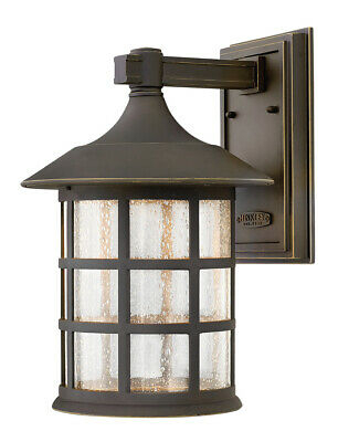 Hinkley Lighting 1805oz Led Freeport Outdoor Wall Light Throughout Jordy Oil Rubbed Bronze Outdoor Wall Lanterns (View 9 of 20)