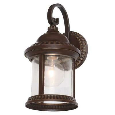 Home Decorators Collection Cambridge Outdoor Essex Bronze Regarding Clarence Black Outdoor Wall Lanterns (View 8 of 20)
