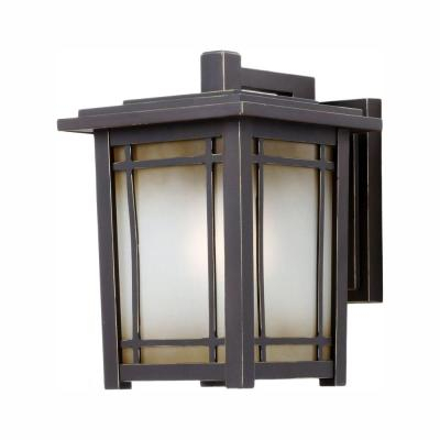 Home Decorators Collection Port Oxford 1 Light Oil Rubbed For Brierly Oil Rubbed Bronze/black Outdoor Wall Lanterns (View 14 of 20)
