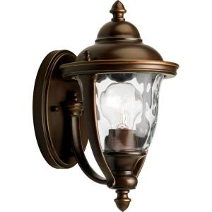 Home Decorators Collection Port Oxford 1 Light Oil Rubbed Inside Verne Oil Rubbed Bronze Beveled Glass Outdoor Wall Lanterns (View 13 of 20)