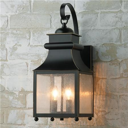 Homesteader Seeded Glass Outdoor Wall Lantern – 2 Light For Chicopee 2 – Bulb Glass Outdoor Wall Lanterns (View 18 of 20)