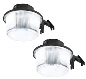Hyperikon Dusk To Dawn Led Barn Light Outdoor, Led Intended For Gunnora Outdoor Barn Lights With Dusk To Dawn (View 8 of 20)