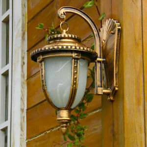 Ip41 Classic Rust Outdoor Sconce, Wall Lantern,wall Mount Throughout Malak Outdoor Wall Lanterns (View 10 of 20)