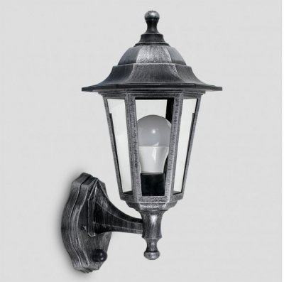 Ip44 Outdoor Wall Lantern With Dusk To Dawn Sensor Within Borde Black Outdoor Wall Lanterns (View 13 of 20)