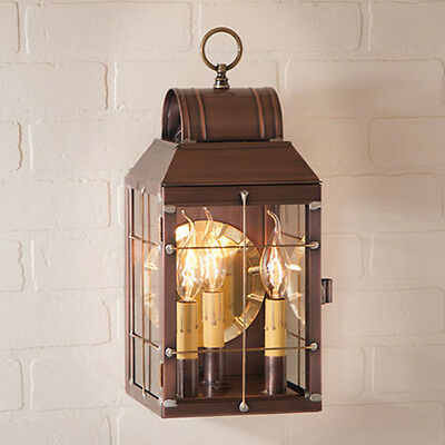Irvin's Tinware Martha's Wall Lantern – Primitive Country With Malak Outdoor Wall Lanterns (View 4 of 20)