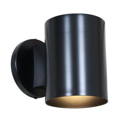 Ivy Bronx Natale 6'' H Integrated Led Glass Outdoor Armed Inside Chazz Integrated Led Outdoor Armed Sconces (View 17 of 20)