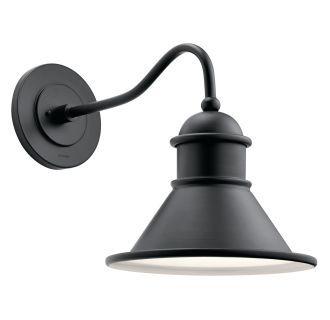 Kichler 49776   Outdoor Wall Lighting, Outdoor Barn With Regard To Rickey Black Outdoor Barn Lights (View 5 of 20)