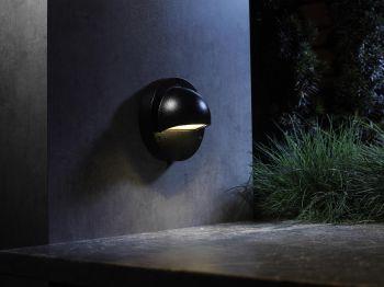 Led Garden Downlighter Spotlight   Outdoor Lighting With Regard To Roden Black 3 Bulb Outdoor Wall Lanterns (View 10 of 20)