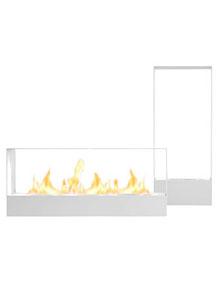Llar Fireplace, Modern Outdoor Fireplacegandia Blasco Pertaining To Feuerstein Black 16'' H Outdoor Wall Lanterns (View 15 of 20)