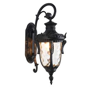 Lonedruid Outdoor Wall Light Fixtures Black (View 11 of 20)