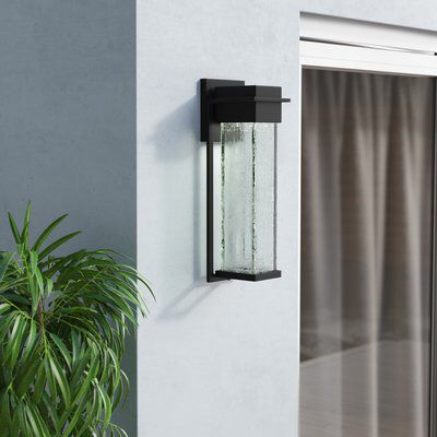 Luzerne Led Outdoor Armed Sconce   Outdoor Sconces Regarding Dedmon Outdoor Armed Sconces (View 12 of 20)