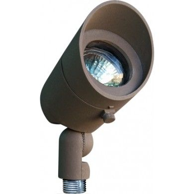 Lv130 Cast Aluminum Directional Spot Light With Hood In Journey Outdoor Wall Lanterns (View 7 of 20)