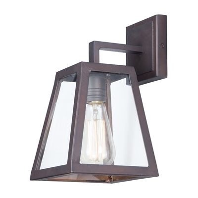 Maxim Lighting 4060cloi Pasadena Single Light Outdoor Wall Intended For Payeur Hammered Glass Outdoor Wall Lanterns (View 20 of 20)
