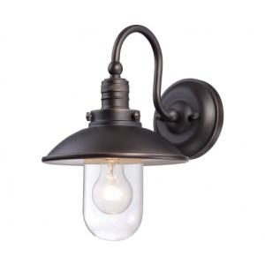 Minka Lavery Outdoor 71163 143c Downtown Edison Bronze Regarding Jordy Oil Rubbed Bronze Outdoor Wall Lanterns (View 16 of 20)