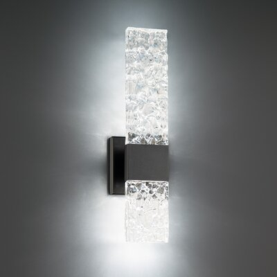 Modern Forms Reflect Black 2 – Bulb 18'' H Integrated Led Inside Chazz Integrated Led Outdoor Armed Sconces (View 2 of 20)