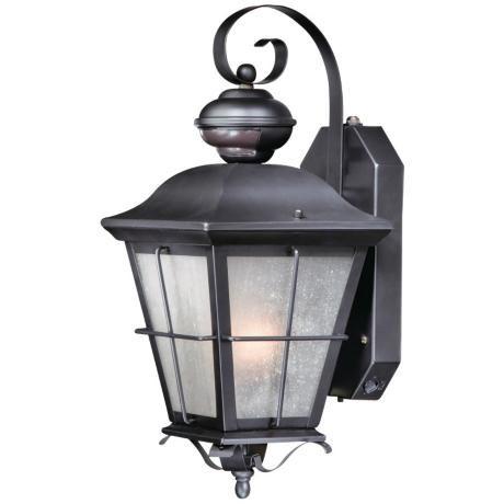 "New Haven Smart Lighting 16""h Bronze Outdoor Wall Light For Tangier Dark Bronze Wall Lanterns (View 2 of 20)"
