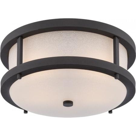 Nuvo Lighting 62/653 Textured Black Willis 2 Light 13 3/4 Pertaining To Sheard Textured Black 2 – Bulb Wall Lanterns (View 4 of 20)