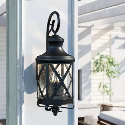Oil Rubbed Bronze Outdoor Wall Lighting You'll Love In Throughout Brierly Oil Rubbed Bronze/black Outdoor Wall Lanterns (View 6 of 20)