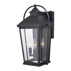 Onion Outdoor Wall Lanterns | Houzz For Brook Black Seeded Glass Outdoor Wall Lanterns With Dusk To Dawn (View 5 of 20)